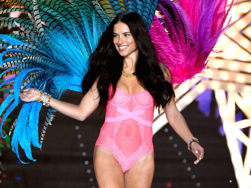 Adriana Lima in 2015 Victoria's Secret fashion show