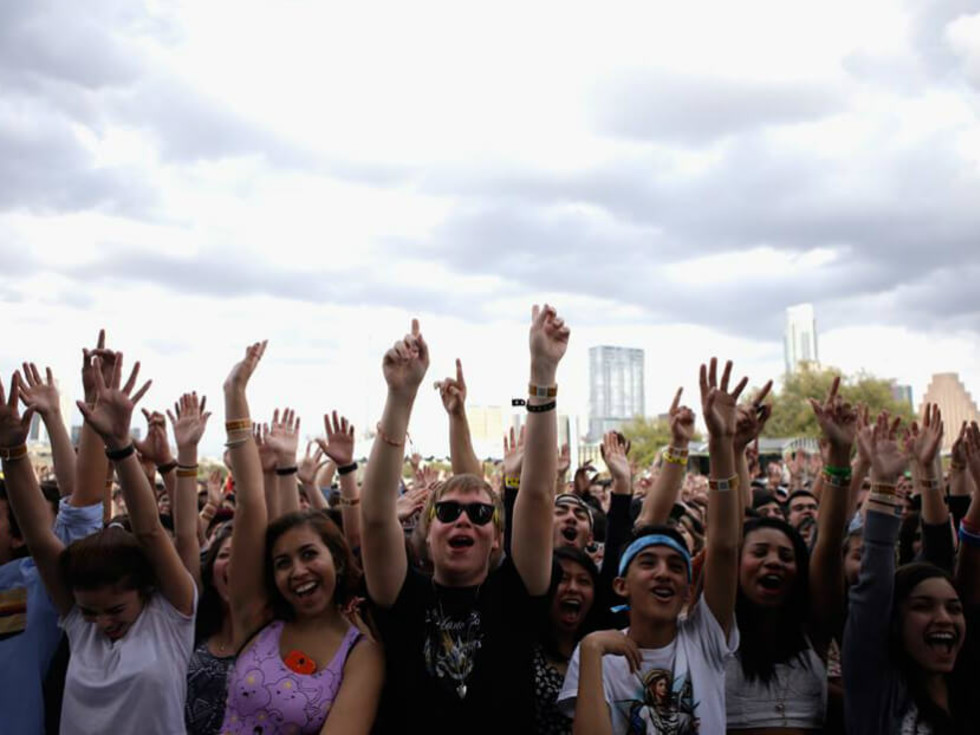 SXSW Outdoor Stage_Butler Park_2014