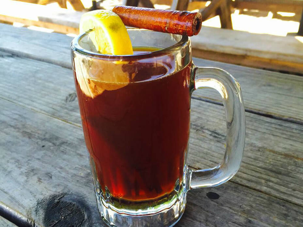 The Buzz Mill hot toddy drink