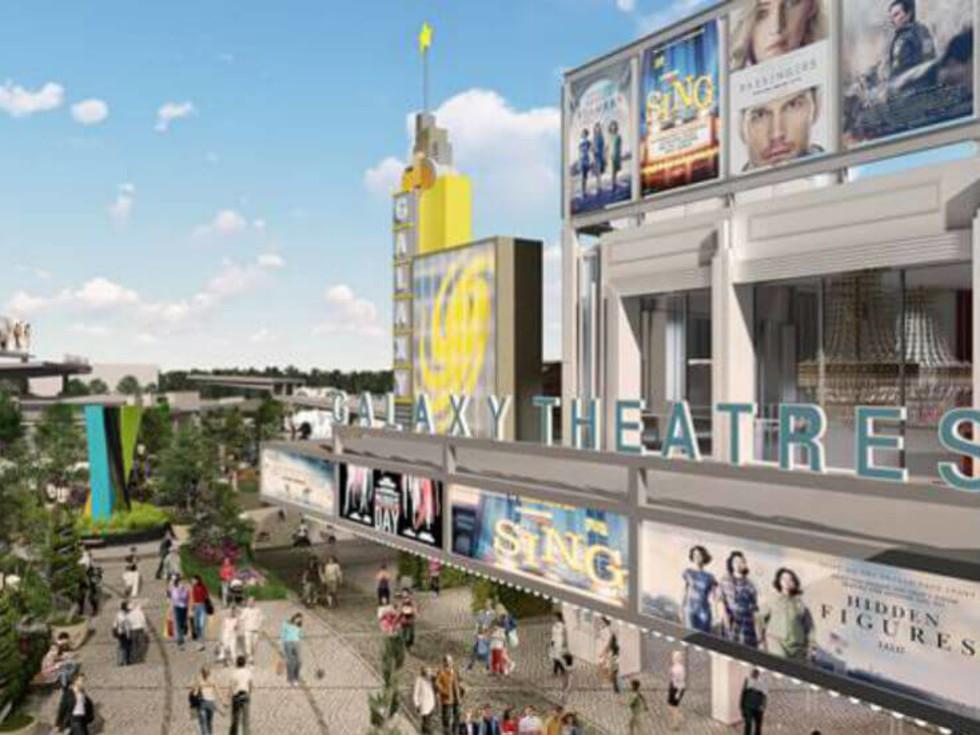 Galaxy Theatre, rendering
