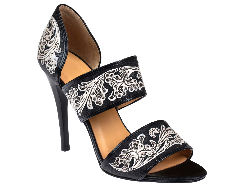 Lucchese Rose Heels