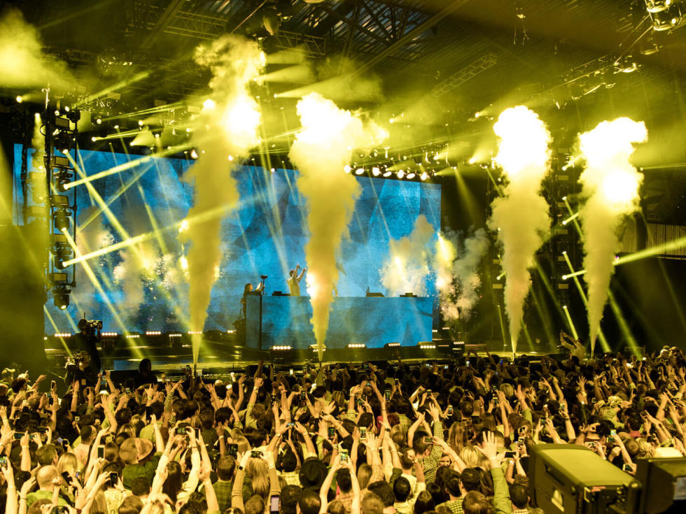 Houston, EA Sports Bowl at Club Nomadic, Jan 2016, The Chainsmokers