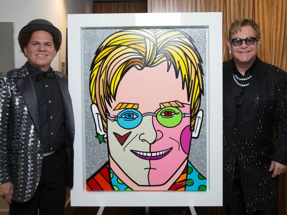 Russell Collection Fine Art Gallery presents Romero Britto