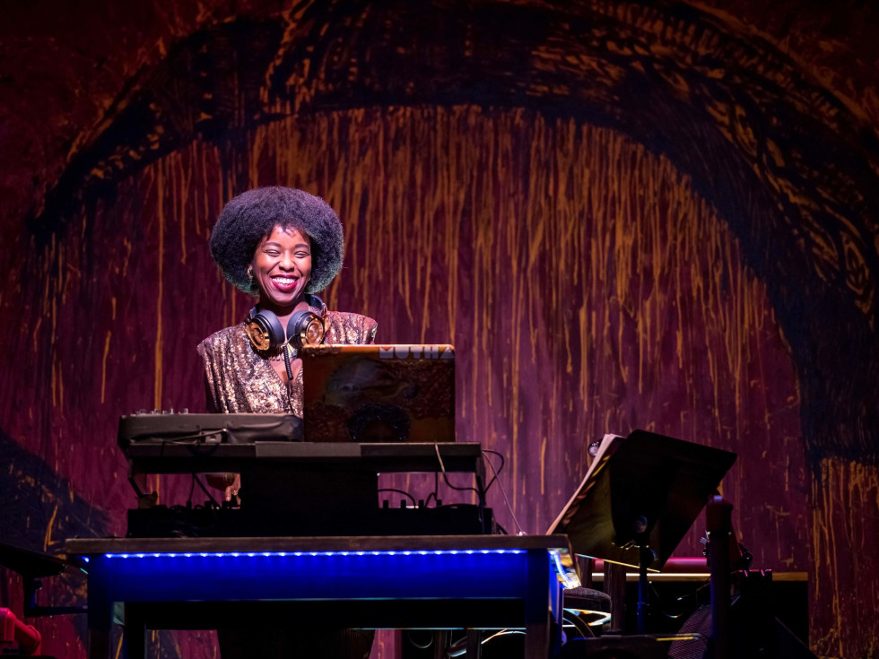 """Alley Theatre's Syncing Ink, Robyn """"DJ Reborn"""" Rodgers"""
