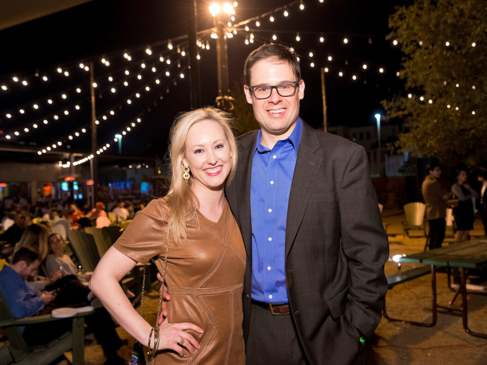 Houston, Red Buds Date Auction, Feb 2017, Katie Hester, Mason Hester