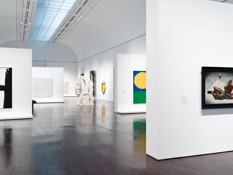 Blanton Museum of Art Mordern & Contemporary galleries installation 2017