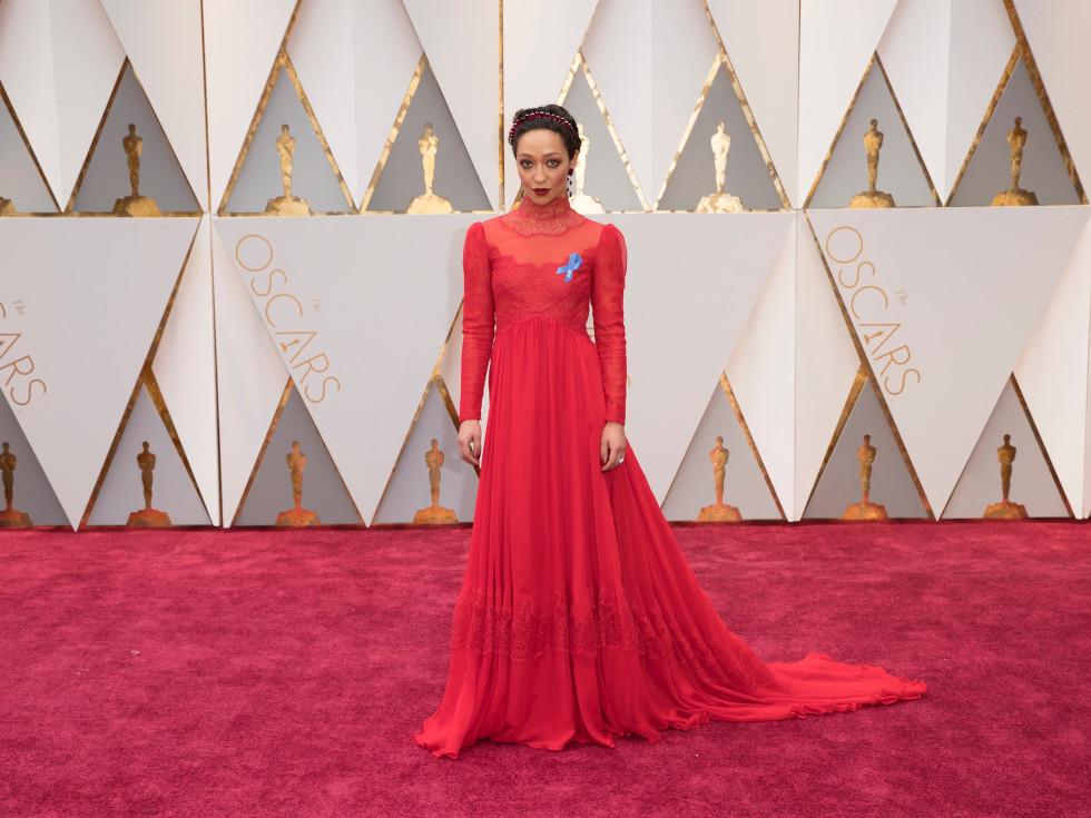 Ruth Negga at Oscars 2017