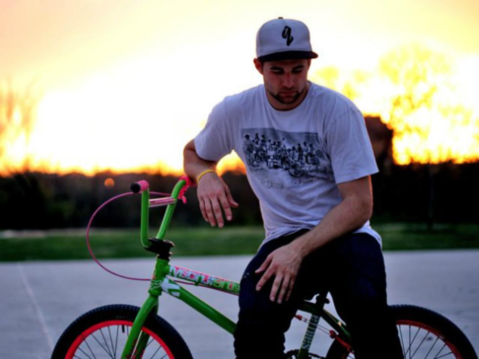 Aaron Ross BMX bike