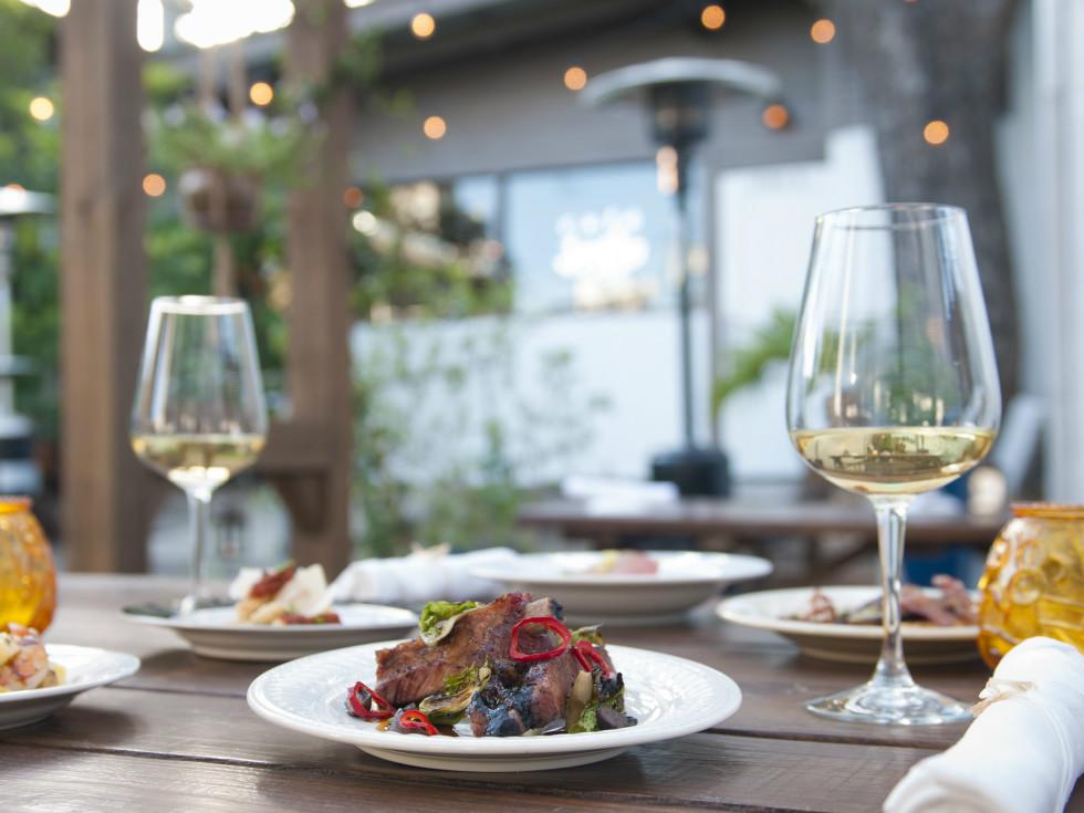 Cafe Josie Austin restaurant rib dish 2016