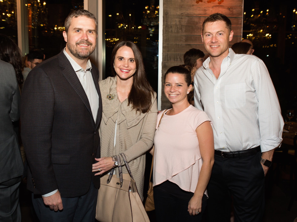 UTHealth Children's Learning Institute's fifth annual tasting dinner, Kyle and Marion Woerner, Laura Farach and Jeff Rainey