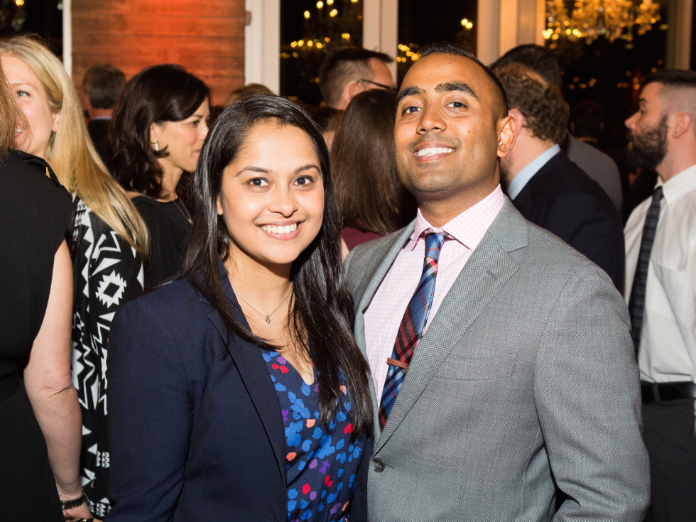 UTHealth Children's Learning Institute's fifth annual tasting dinner, Mira Shah, Isham Khan