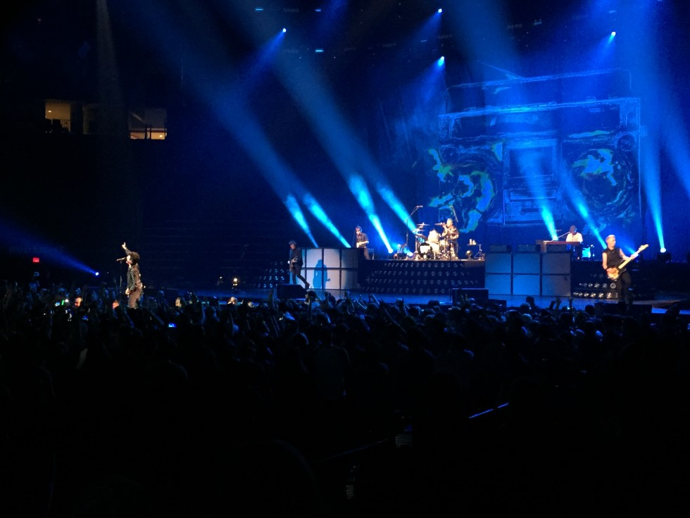 Green Day in concert at Toyota Center