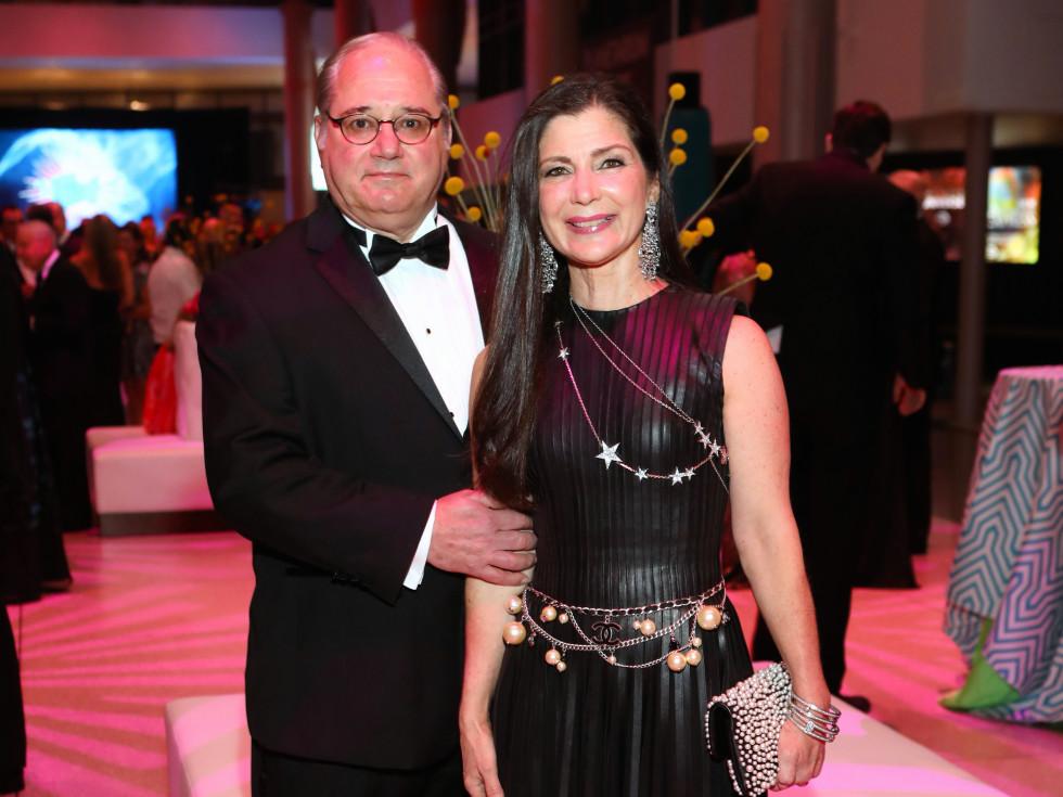 Houston, HMNS Big Bang Ball, March 2017, Tony Petrello, Cynthia Petrello