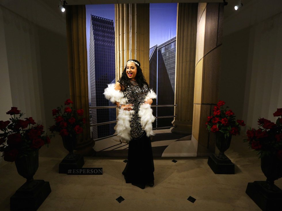 """Dr. Noreen Mayberry at the Ars Lyrica """"Roaring Twenties"""" Gala o"""