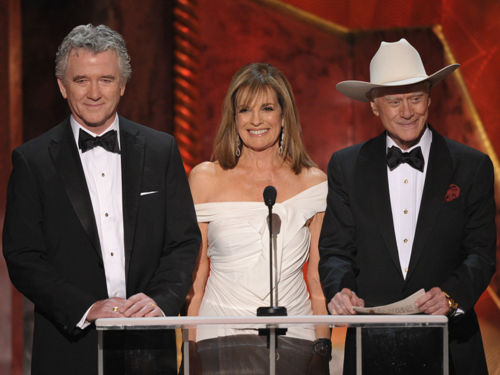 News_SAG Awards_January 2012_Patrick Duffy_Linda Gray_Larry Hagman