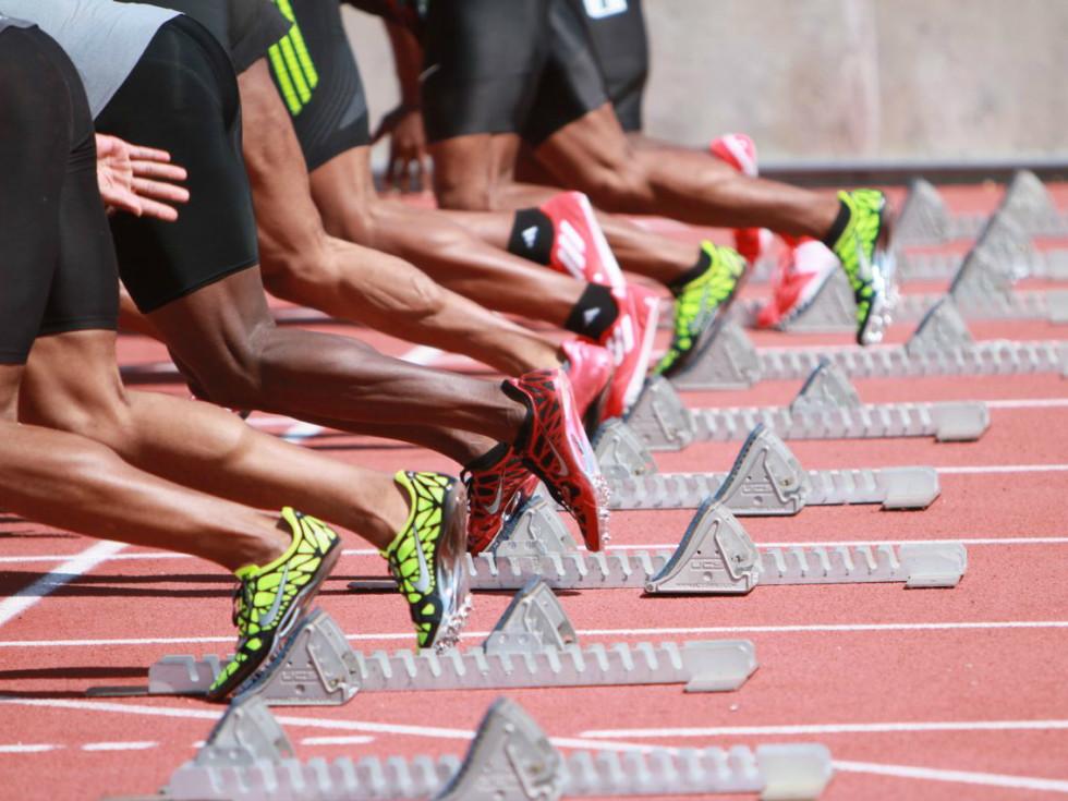 Texas Relays running on track