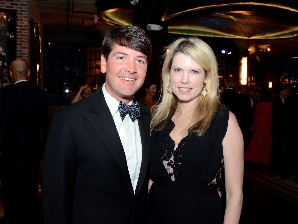 Bill Toomey, Courtney Toomey at Da Camera gala 2017