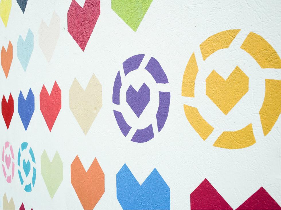 LIKEtoKNOW.it He(art) Wall mural