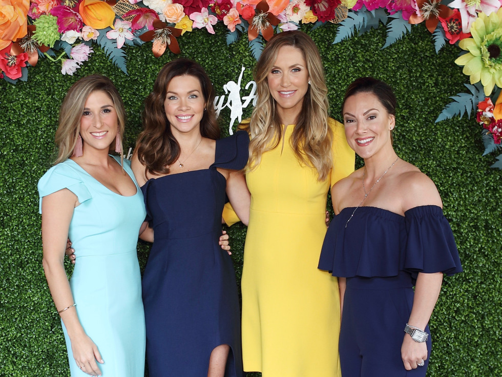 Brittany Hebert, Jentry Kelley, Lara Trump, Callie Perez at Sky High Brunch