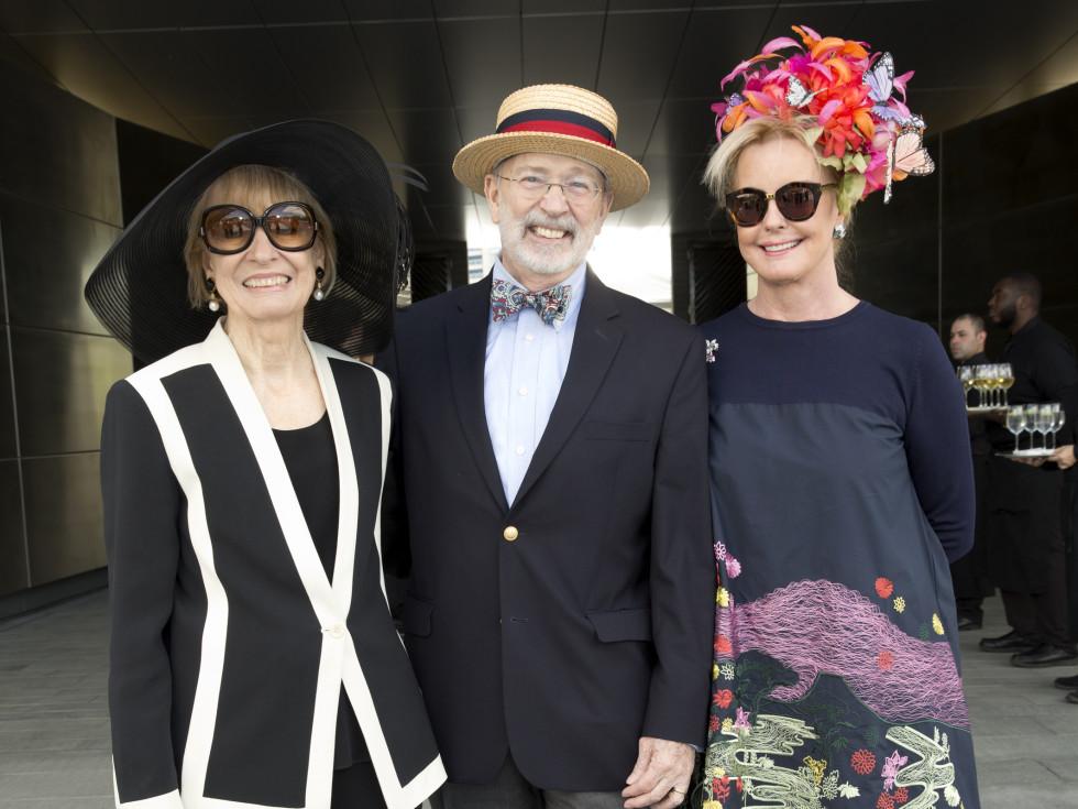 Houston, hats in the park, April 2017, Sandy Godfrey, C.C. Conner, Karen Bradshaw