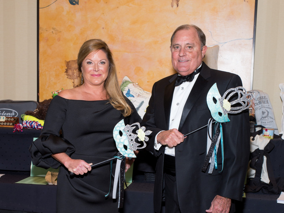 Honorees Julie and Jay Rogers at Covenant House Gala 2017