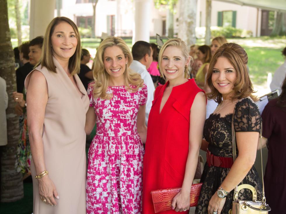 Bayou Bend Oscar de la Renta, Soraya McClelland; Luvi Wheelock; Isabel David; Donae Cangelosi Chramosta