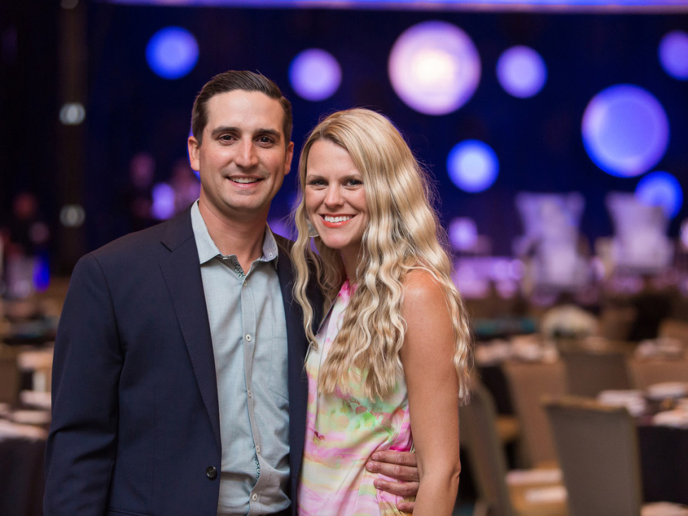 Andy Roddick Foundation Opportunity Matters Luncheon 2017 Sean Farmer Meggie Hodge