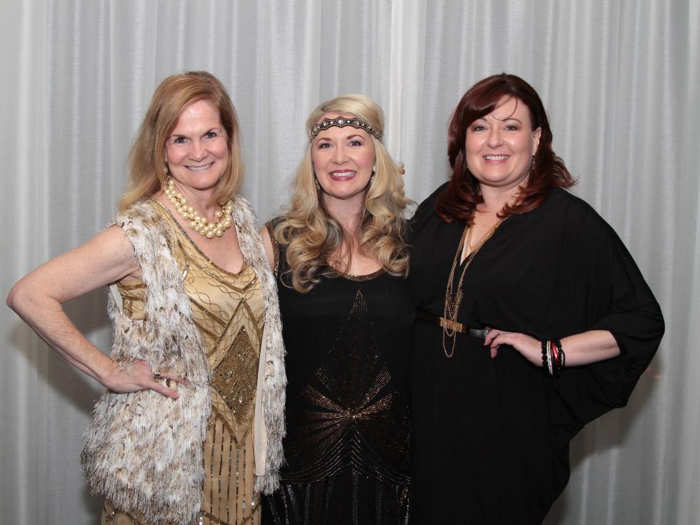 Devereux Gala, Cathy Robertson, Misti Pace-Krahl, Laura Vinans-Jahn