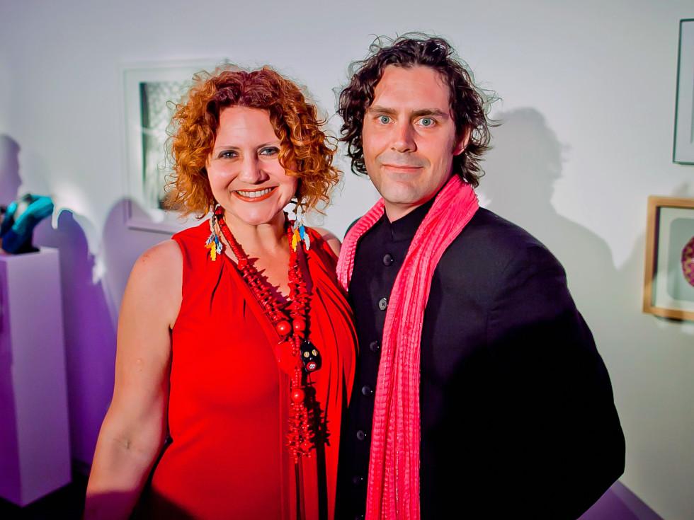 Houston, Blaffer Art Museum Color Splash Gala, April 2017, Claudia Solis, Matthew Wettergreen