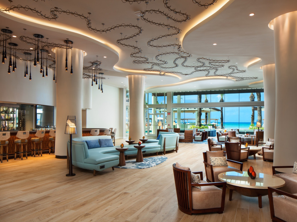 Lobby of Westin Grand Cayman Seven Mile Beach Resort & Spa