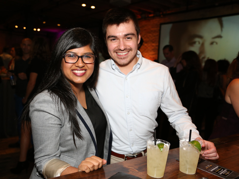 CultureMap Tastemaker Awards 2015 Rene Castro Dania Abbasi