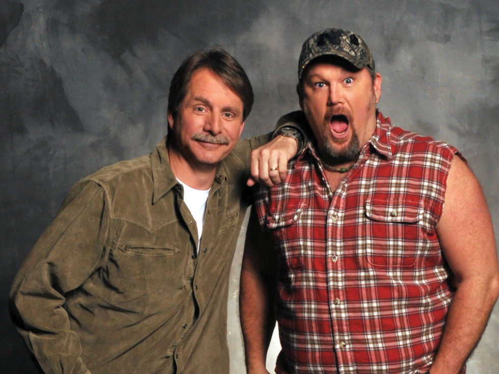 Jeff Foxworthy and Larry the Cable Guy