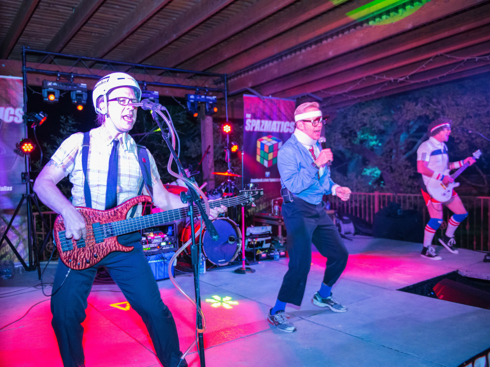 Bandana Ball April 2016 Ronald McDonald House Charities of Central Texas Spazmatics band