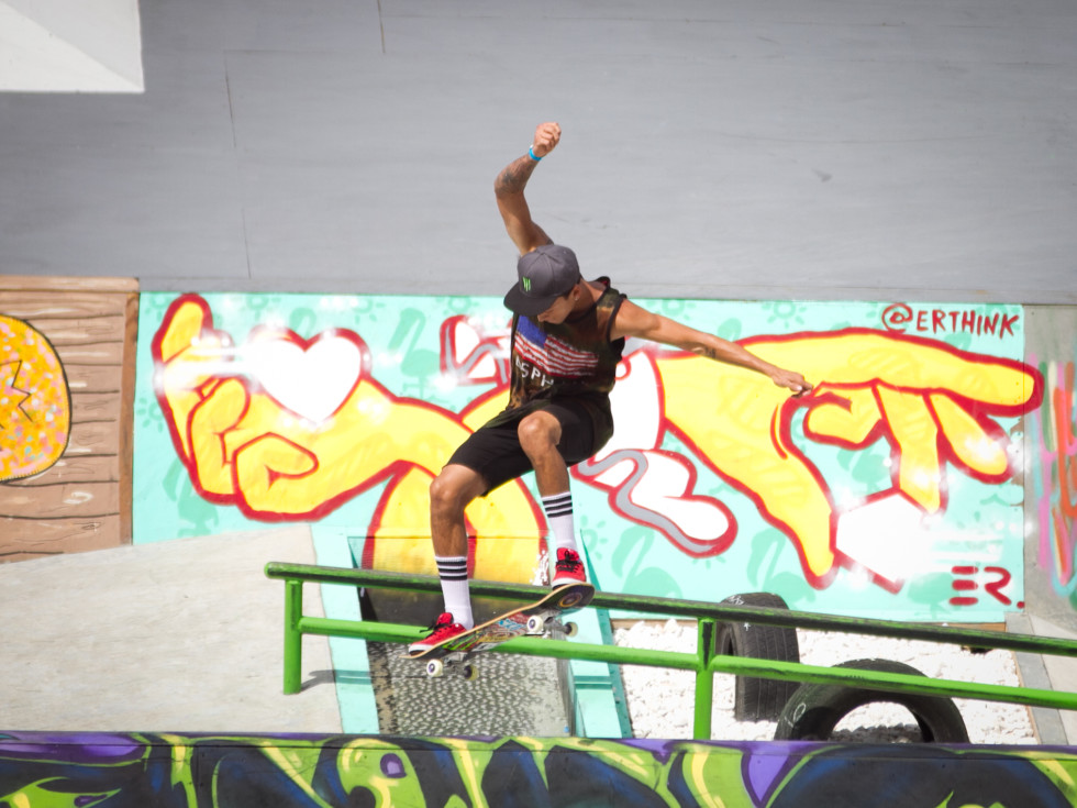 X Games Austin Sunday Men's Skateboard Street Final Winner Nyjah Huston