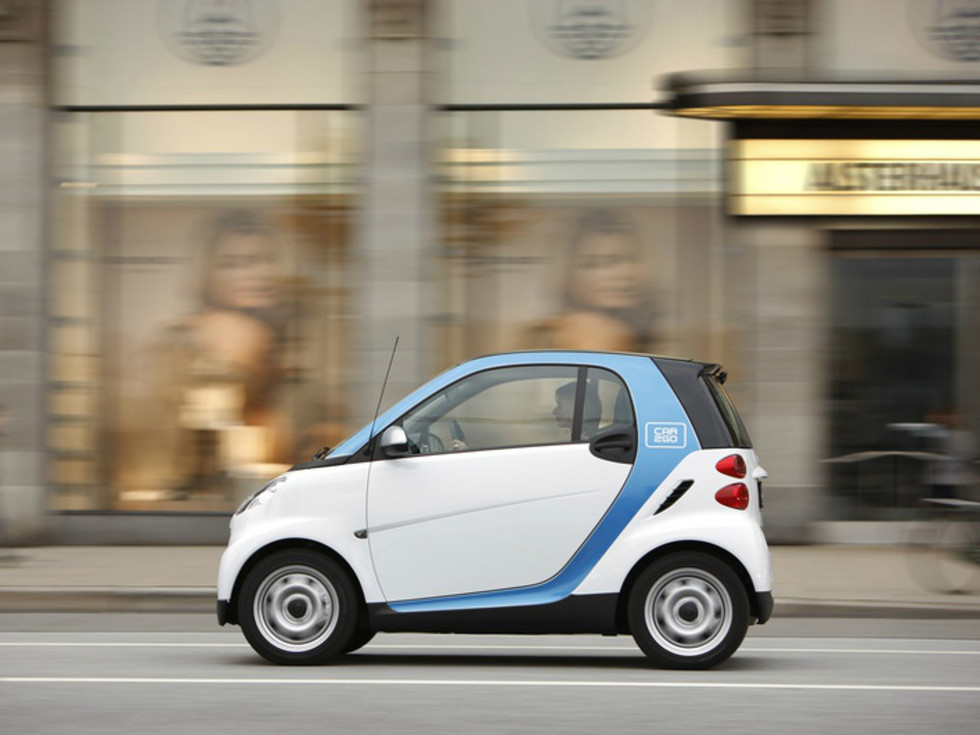 car2go Austin Smart Car