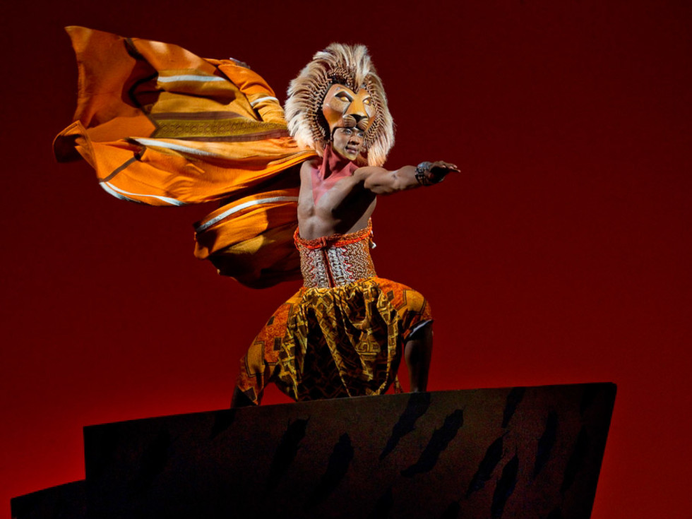 """Nancy, Lion King, Jelani Remy as """"Simba"""" from THE LION KING National Tour"""