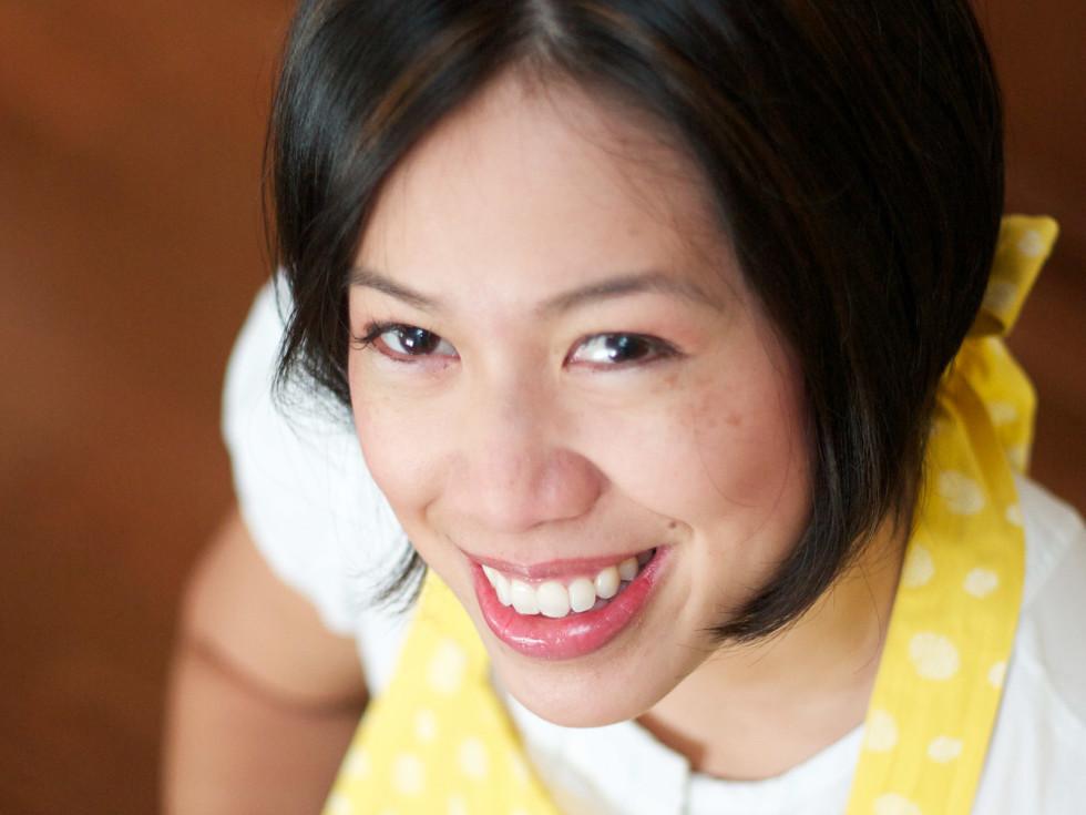 Christine Ha MasterChef The Blind Cook head shot with apron