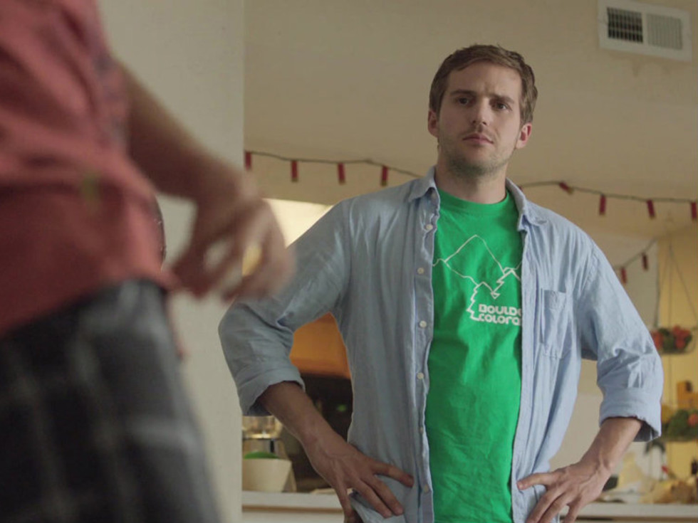Michael Stahl-David in Brian Poyser's film Love and Air Sex