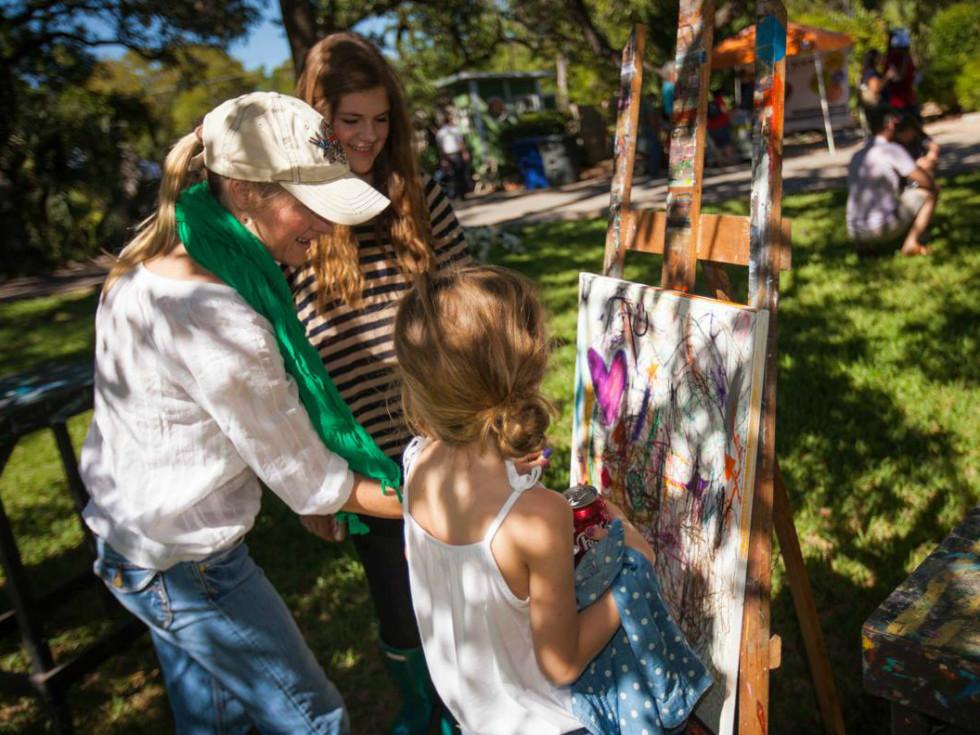The Contemporary Austin_Art School_open house_free for all_Laguna Gloria