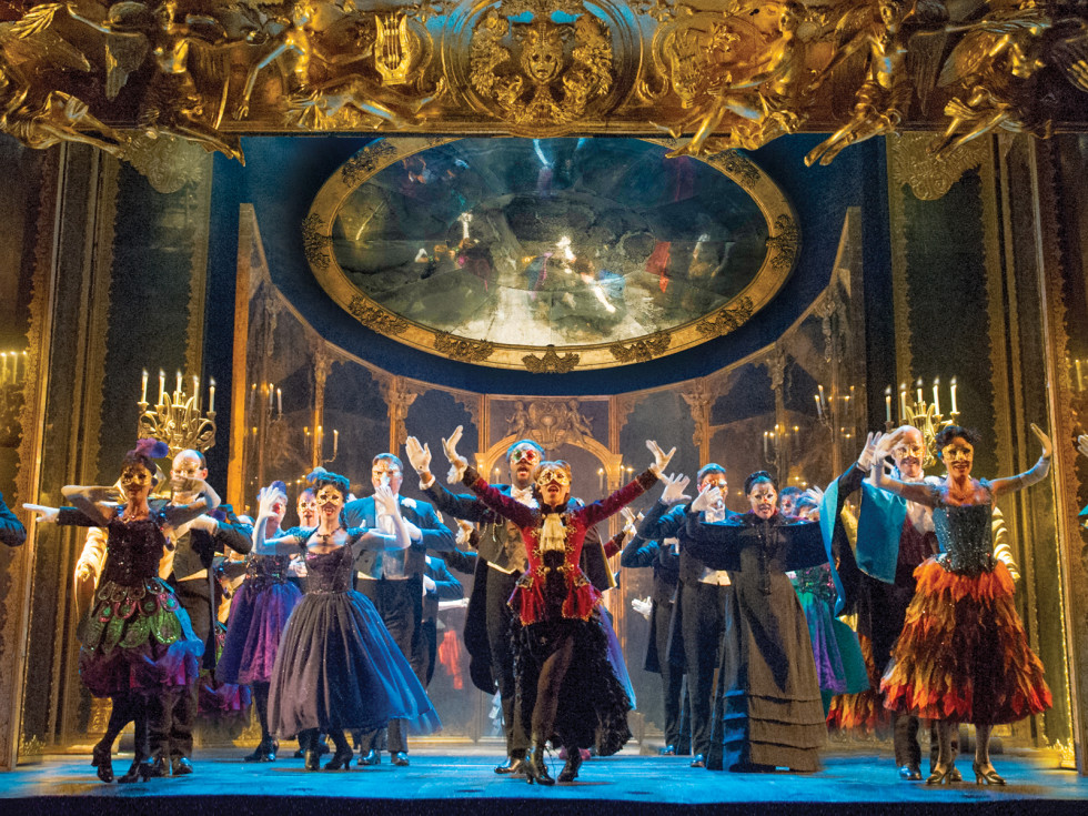 Broadway at the Hobby Center January 2015 THE PHANTOM OF THE OPERA 3 - The Company performs Masquerade