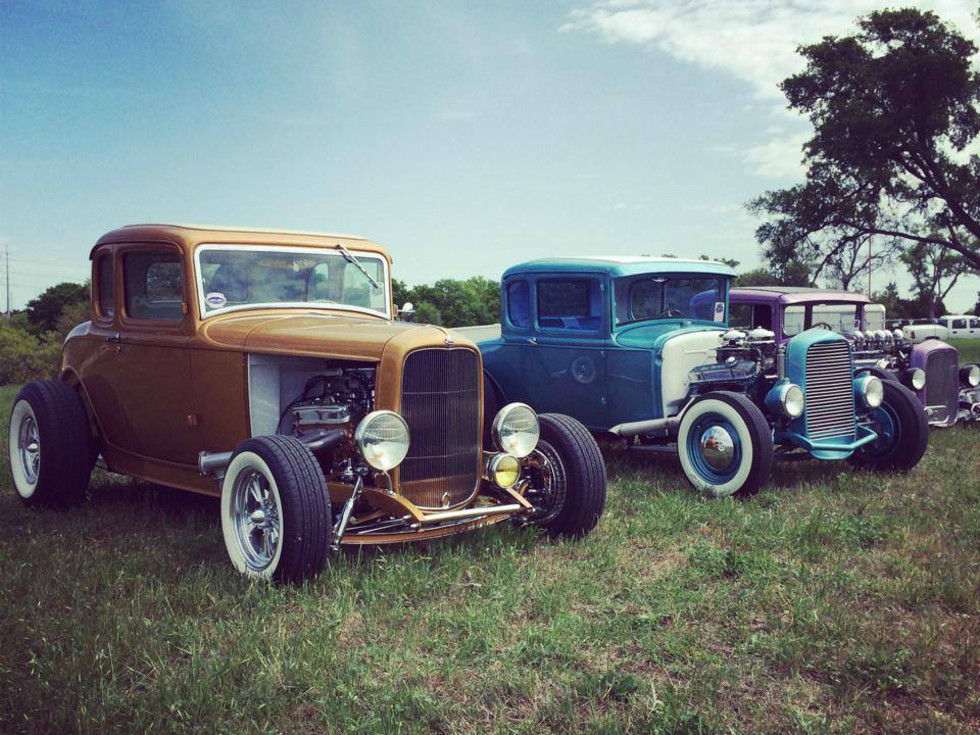 Lonestar Round Up_classic cars_2014