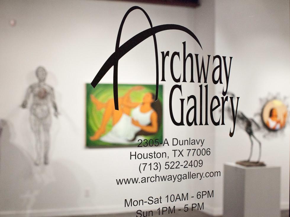 News_Archway Gallery_door_logo
