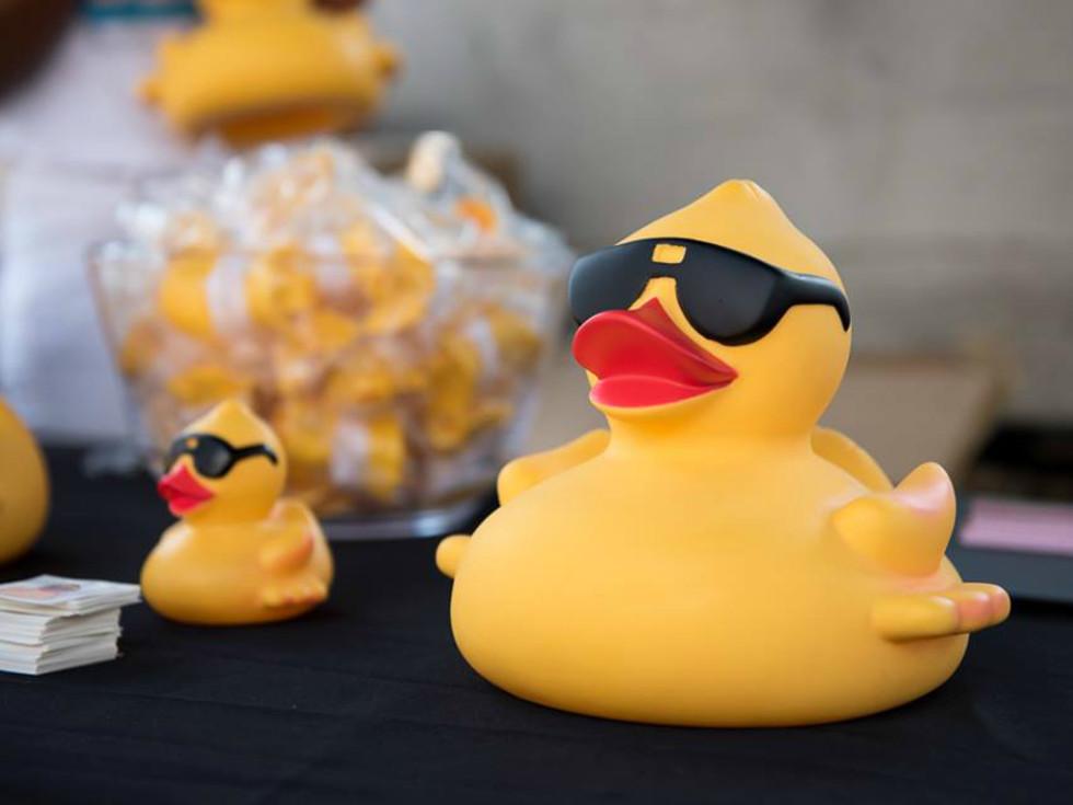 Austin Duck Derby rubber duckie Boys and Girls Club