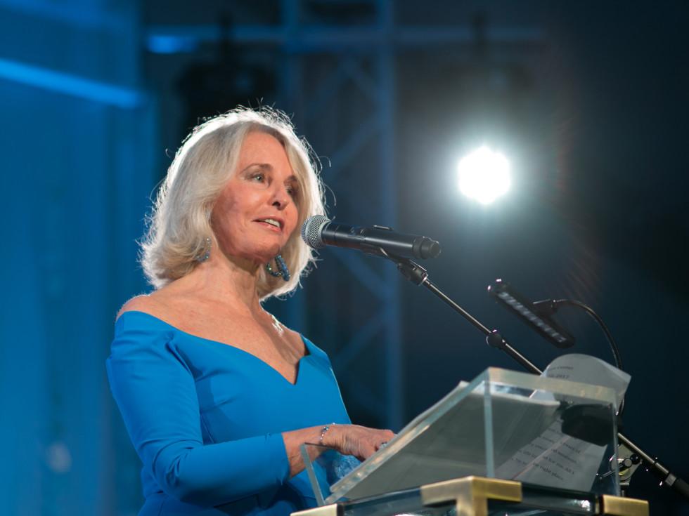 Ransom Center World of Wonders Gala 2017 Sally Quinn
