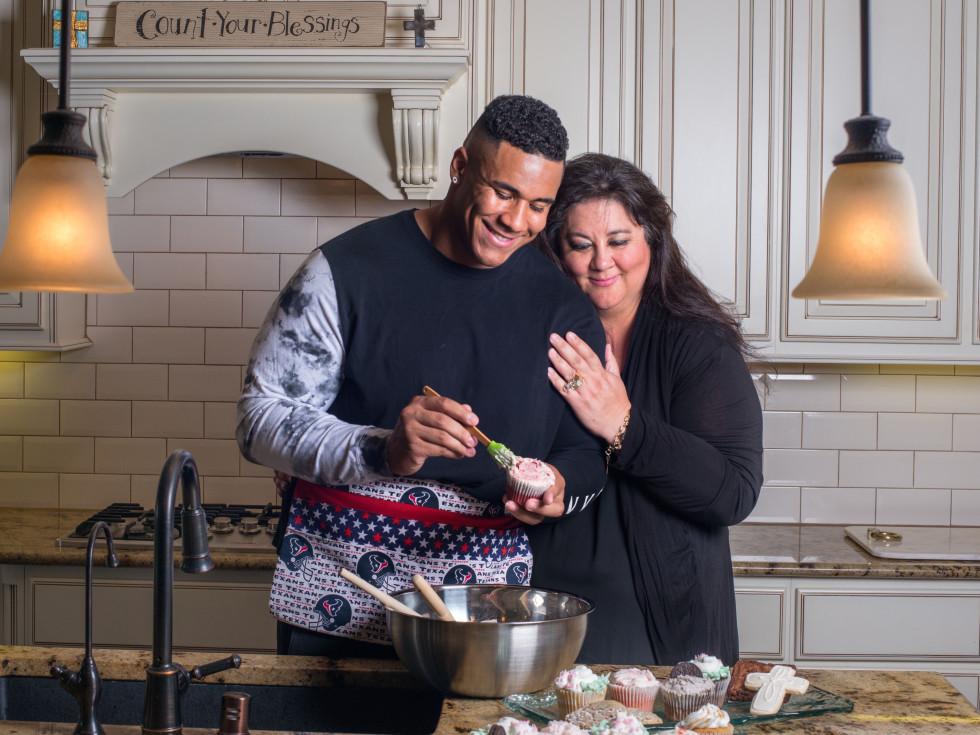 Christian Covington and mom, Natasha Covington