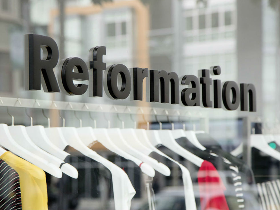 Reformation Pop-Up Shop