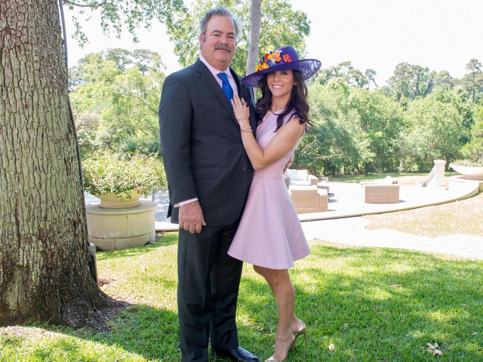 Houston, Hats, Hearts & Horseshoes benefiting Bo's Place 2017, May 2017, Cal and Hannah McNair