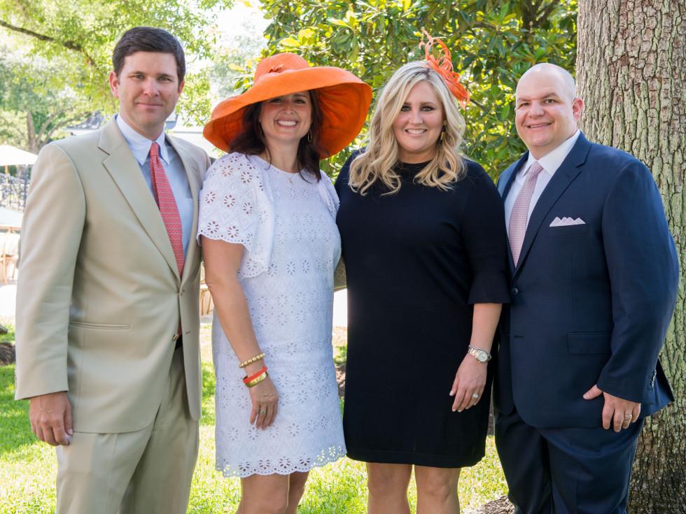 Houston, Hats, Hearts & Horseshoes benefiting Bo's Place 2017, May 2017, Charlie Neuhaus, Susan Neuhaus, Meredith Chastang, Patrick Chastang