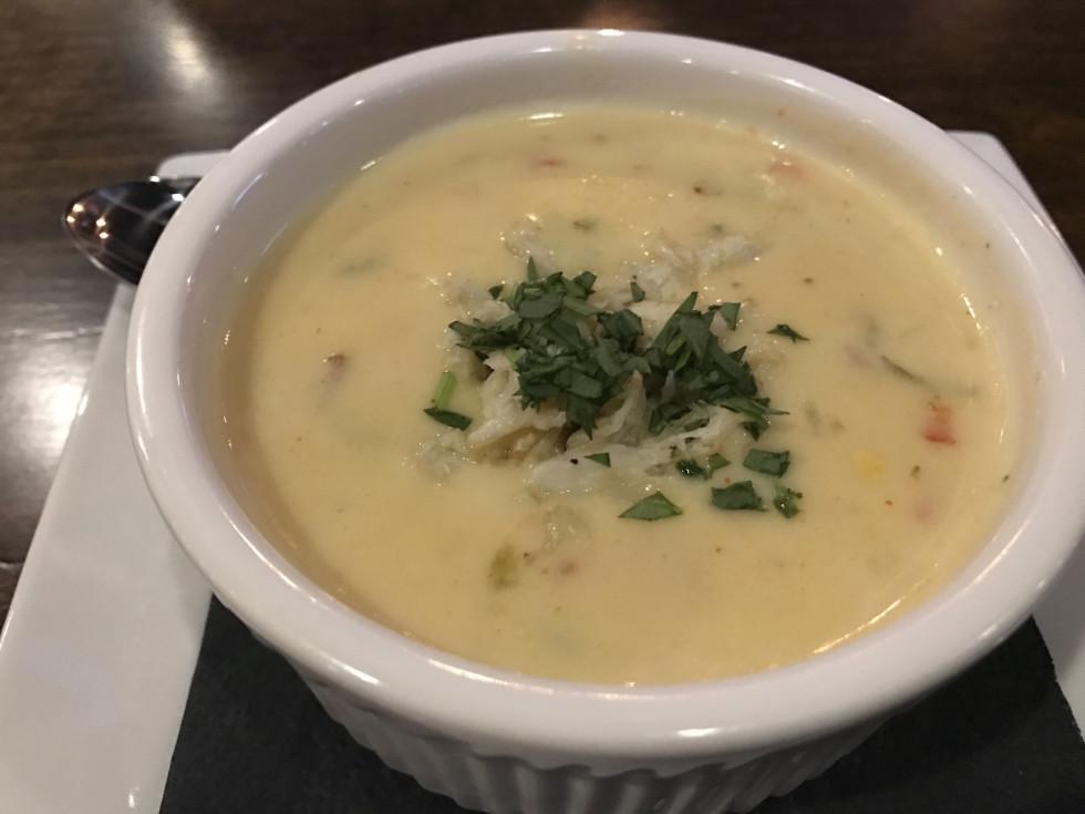 Pinch Seafood corn bisque