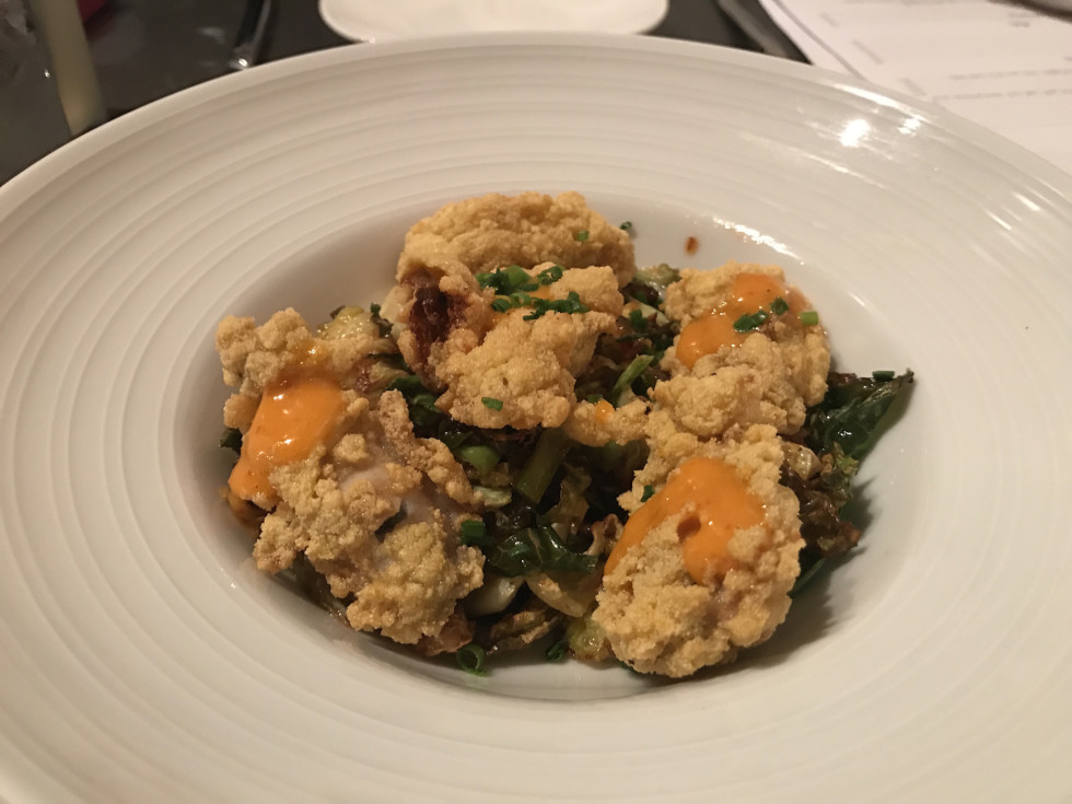 Field & Tides fried oysters